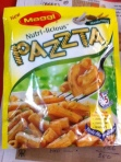 A packet full of pasta